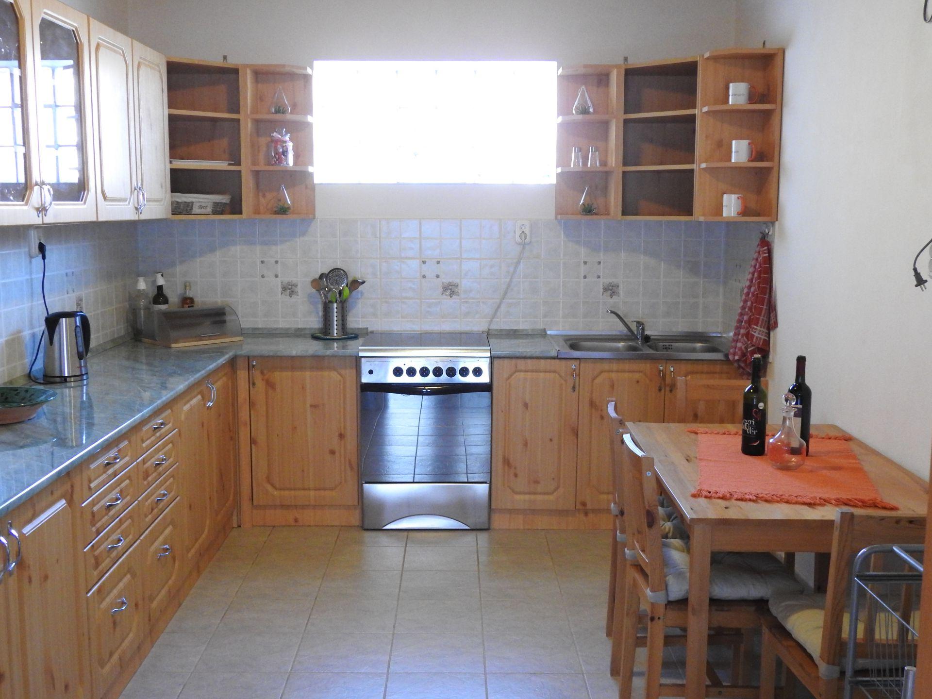 keuken 2 Vakantie Woning Hongarije