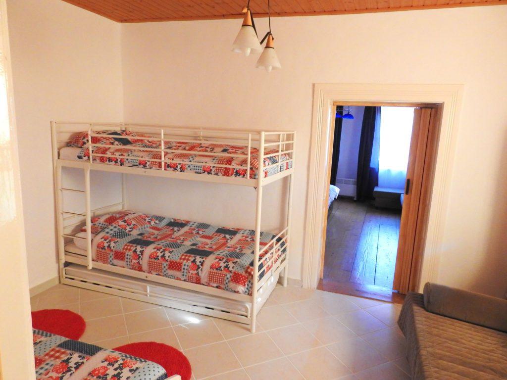 slaapkamer 1 Vakantie Woning Hongarije