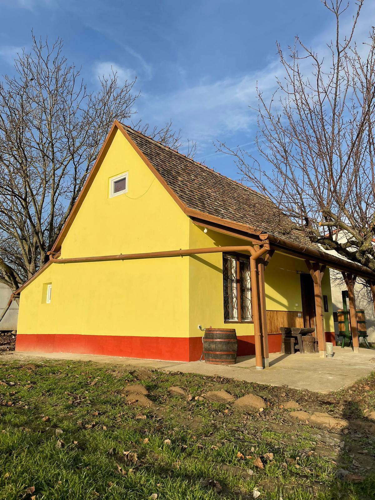 het hongaarse wijnhuis 25 Vakantie Woning Hongarije