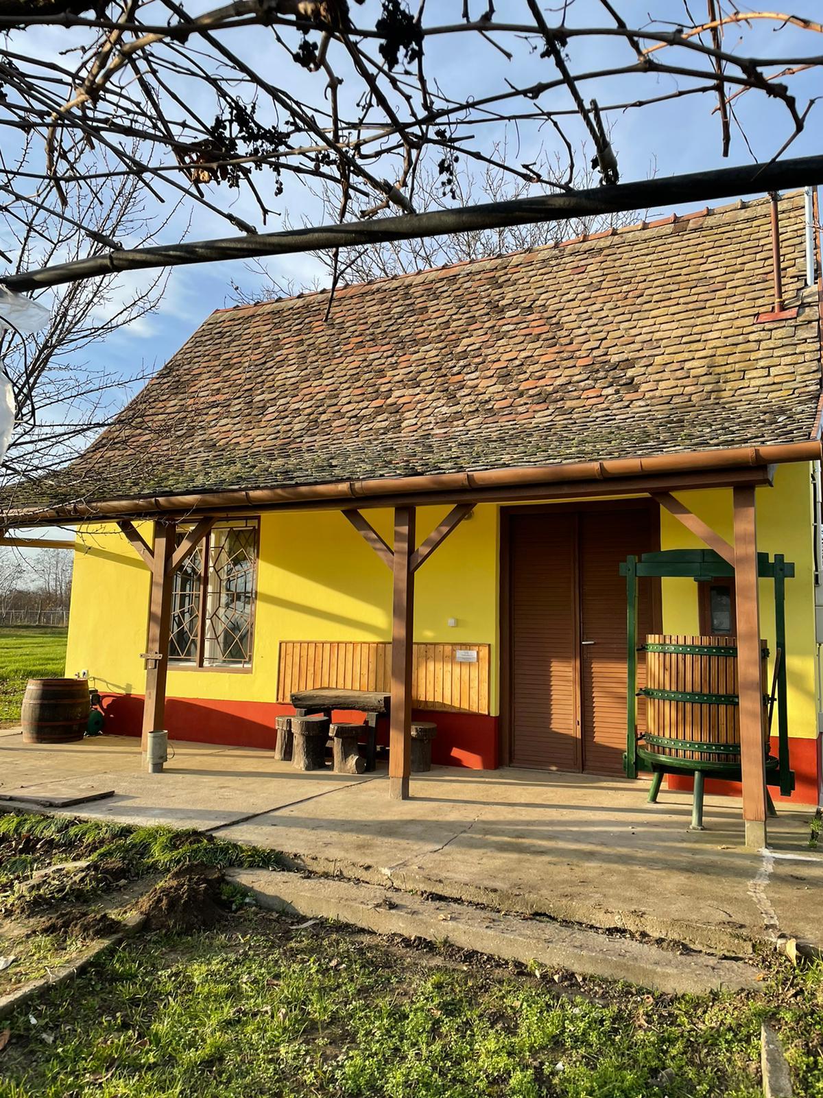 het hongaarse wijnhuis 27 Vakantie Woning Hongarije