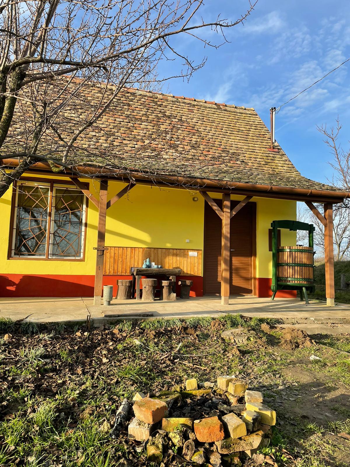 het hongaarse wijnhuis 29 Vakantie Woning Hongarije