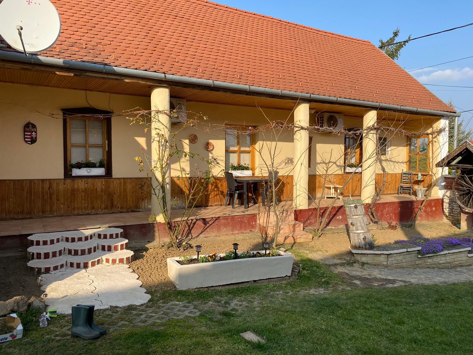 Zomer Het Hongaarse Huisje 4 Vakantie Woning Hongarije